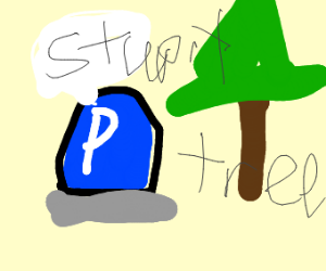 P switch being mean to tree