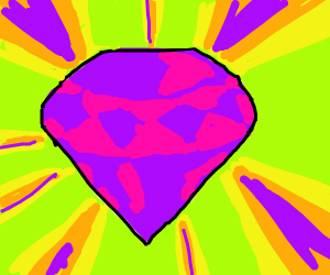 Glowing Purple Gem