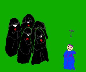 A cult judging you