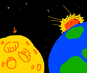The moon is cheese
