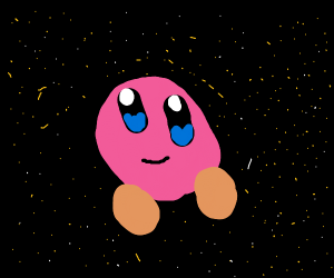 Kriby in space (poyo)