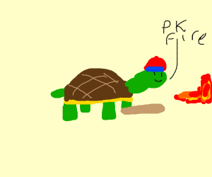 turtle does pk fire