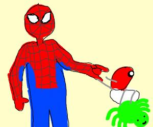 Spider-Man is a Pokemon trainer