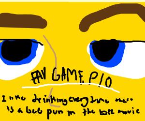 favorite game PIO
