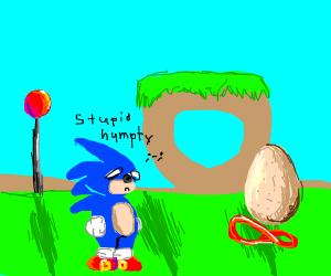 humpty dumpty is faster than sonic