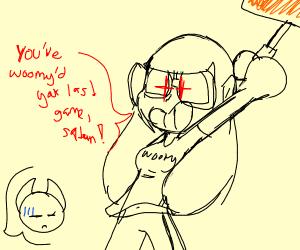 Splatoon kid kills satan