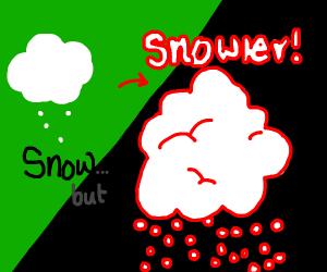 Snow... but snowier!