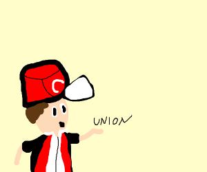 Pokemon trainer suggesting unionizing