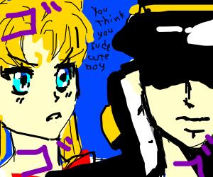 Jotaro vs. Sailor Moon