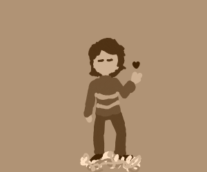 frisk with a human soul