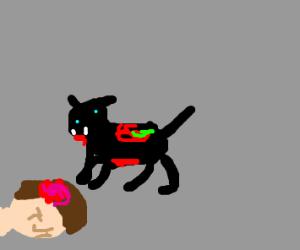 Happy Zombie Cat