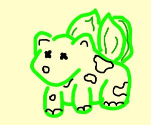 Dead cow Bulbasaur