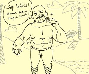 Shirtless Thanos