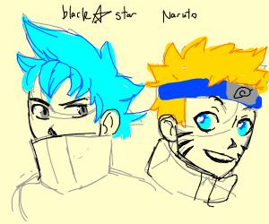 Blackstar meets Naruto