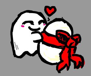 ghost lov egg