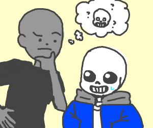 questioning if sans is sans