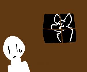 Creepy Stalker Is Watching
