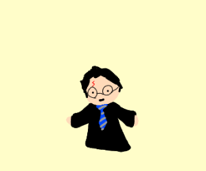 Harry Potter as a Ravenclaw