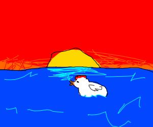 Chicken In The Ocean