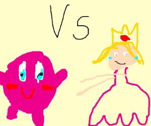 Peach vs Kirby