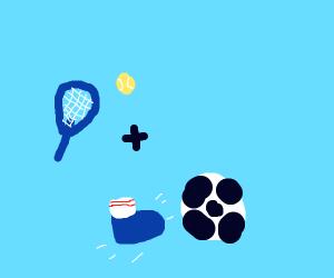 tennis + soccer