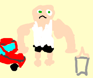Buff manbaby