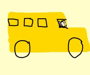 Unconventional Bus Driver