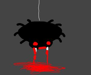Bloodthirsty spider