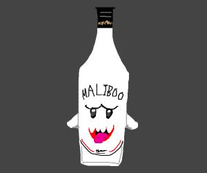 Bottle of Malibu... er, Maliboo