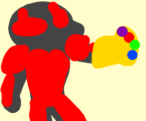 Ant-Man with Infinity Gauntlet