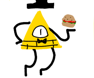 Bill chipher orders a right hamburger