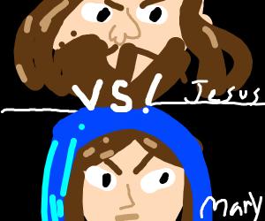 mary vs jesus