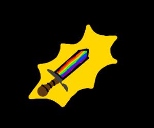 The legendary sword of gay