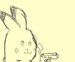 pikachu is gona shoot you