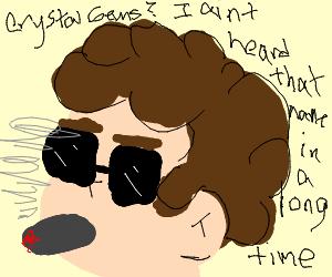 Steven Universe smoking a fat one