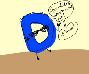 Drawception D wants to be a meme