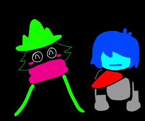 Kris and Ralsei