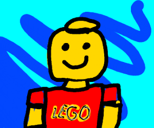 Knockoff Lego man