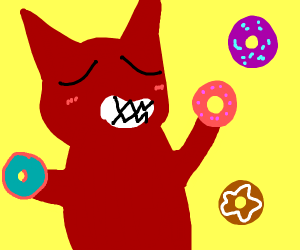 The devil likes donuts