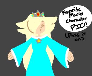 Favorite Mario Character PIO