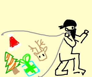 swiper steals christmas