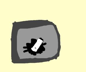Wiimote  :  1, television :  0