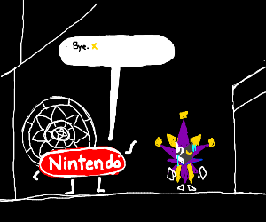 dimentio abandoned by nintendo