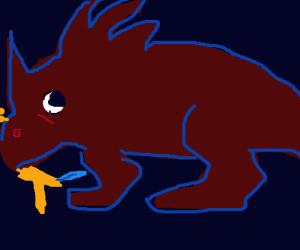 Sick Styracosaurus