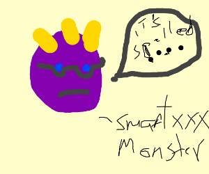 Geeky Monster - Drawception