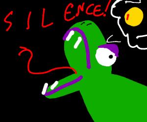 Snek wants Ssssilence