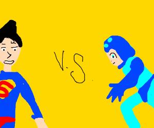 Superman vs megaman