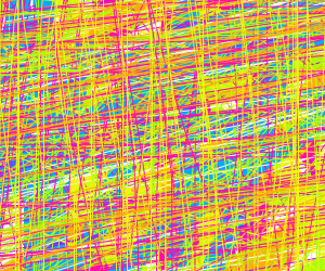 A smorgasbord of colors and lines