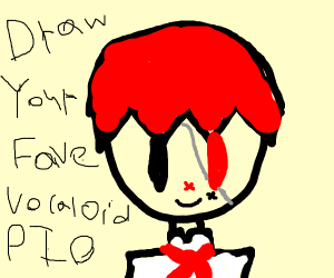 draw your fave vocaloid pio