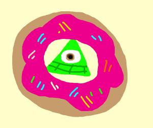 Illuminati donut